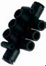 Prestolok Composite Fittings -- 24PLPD Double Multiple Tee