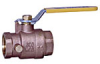 Full Port Brass Ball Valve -- Series IS-6301 - Image