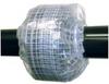 Flange Spray Shield, 5 In, PVC -- 3KHL5