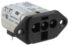 Power Entry Connectors - Inlets, Outlets, Modules -- 6609075-7-ND -Image