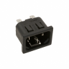 Power Entry Connectors - Inlets, Outlets, Modules - Unfiltered -- CCM1402-ND