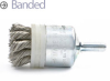Knotted Wire End Brush -- BNH-12T