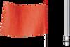 Gorilla® Light Duty Non-Lighted Warning Whips -- FSRR7