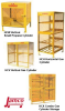 GAS CYLINDER CABINETS -- HCW336