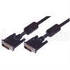 DVI-D Dual Link LSZH Cable Male/Male w/ Ferrites, 3.0 ft -- CTLDVIDMMLZ-3 - Image