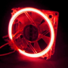 Red Cold Cathode 80mm Fan -- 16204 -- View Larger Image