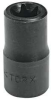 Impact Socket,Torx,1/2 Dr,E18 x 1-1/2 In -- 6PMF1 - Image