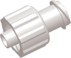 Locking Male to Female Luer to Luer Straight Connector -- AP13FTMLFCL