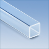 Square Tubing Clear Quartz -- ST8