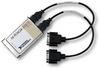 PCMCIA-232/2, Enhanced COM Driver for Windows, 2-Port, 0.3 m -- 777379-02
