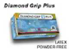 Diamond Grip Plus Glove DIAMOND GRIP PLUS GLOVE Powder Free Latex, Exam Large -- 1186273