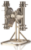 Sanitary Meat & Poultry  Pump -- SaniForce Meat & Poultry Flapper Pump - Image
