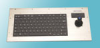NEMA 4X Panel Mount Industrial Keyboard with Industrial Mouse™ -- KIF8900 Series