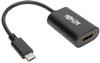 USB-C to HDMI 4K External Video Adapter (M/F), Thunderbolt 3 Compatible, 4K x 2K (4096 x 2160) @ 60 Hz, 6 in. -- U444-06N-HD4K6B