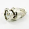 10-32 Female (Jack) to BNC Male (plug) Adapter, High Temp, 1.2 VSWR -- SM2409 - Image
