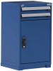 Heavy-Duty Stationary Cabinet (with Compartments), 2 Drawers (24