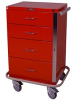 GP Line Four Drawer Emergency Cart Standard Package 6145 -- 6145