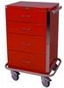 GP Line Four Drawer Emergency Cart Standard Package 6145 -- 6145