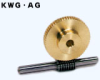 12mm PD Ground Worm Shafts -- KWG0.8-R1 - Image