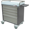 Electronic Locking Medication Cart - OptimAL Line 64 .. -- AL64MDBIN-EKC