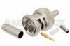 75 Ohm BNC Male Connector Crimp/Solder Attachment for RG179, RG187 -- PE4604