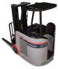 Stand-Up AC-powered Forklift, Nissan Forklift -- SCX Platinum Series