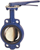 Butterfly Valve - Cast Iron, International, Wafer, Electroplated Disc -- N200136