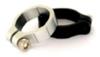 "Lamptron Aluminum Hose Clamp (1/2"" OD) - Black -- 40063 -- View Larger Image"