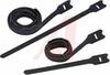 HOOK AND LOOP CABLE TIE, BLACK -- 70043793
