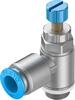 One-way flow control valve -- GRLA-1/4-QS-10-RS-D -Image