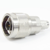 2.4mm Male (Plug) to N Male (Plug) Adapter, Passivated Stainless Steel Body, 1.15 VSWR -- SM3090 - Image