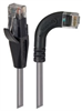 Category 5E LSZH Right Angle Patch Cable, Straight/Right Angle Right, Gray, 20.0 ft -- TRD815ZRA7GRY-20 -Image