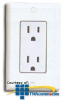 Leviton Decora Side Wired and Quickwire Receptacle -- 5325