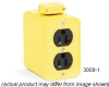 Portable Power Outlet 4 Straight Blade 15A125V 2P3W -- 78678874150-1