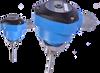 Temperature Transmitter, 4...20mA / Zero & Span Adjustment / HART / Nylon Housing -- ST90A