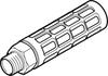 Pneumatic muffler -- U-1-B -- View Larger Image