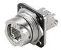 Passive Industrial Ethernet IP67 Plug-In Connector V1 Metal Bayonet Sets - RJ45 -- IE-BS-V01M-RJ45-FJ-A - Image