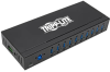 10-Port Industrial-Grade USB 3.0 SuperSpeed Hub - 20 kV ESD Immunity, Iron Housing, Mountable -- U360-010-IND