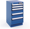 L Cabinet with Partitions, L50 Electronic Lock, with Base (18