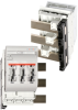 IEC Fuse Switch Disconnectors: MULTIBLOC® 00.RST9 Size 00, 160A, 690VAC, Design for bus bar installation, Triple Pole -- 2.074.000 - Image