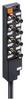 M8 6 port plastic passive distribution box with LED -- 803-5M -Image