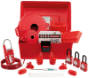 Safety & Security : Lockout Tagout Devices and Kits : Kits -- PSL-KT-MROAP