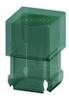 T-1 3/4 Lens Cap-Green -- 8681 - Image