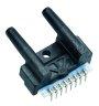 AWM90000 Series airflow sensor, unamplified (mV), flow/pressure range: ±5.0 mbar [2.0 H<sub>2</sub>O]; parallel port style -- AWM92200V -Image