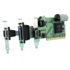 2 Port RS232 LP PCI Serial Port Card with LPT Parallel Port -- UC-203 -- View Larger Image