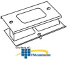 Legrand - Wiremold 3000® Series Rectangular Receptacle.. -- G3048R
