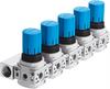 LRB-1/4-DB-7-O-K5-MINI Pressure regulator manifold -- 540043