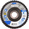 Norton Metal ZA Coarse Center Mount Fiberglass Flat Flap Disc -- 66254472662 - Image