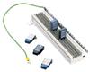 Data Surge Protector SPD PBM Indoor POTS 66 Punch Down Block Receptacle Thyristor -- 1101-469 -Image
