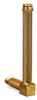 """Vented Long Elbow Brass Liquid Level Gage, 5 21/32"""" Sight Opening, 5/8"""" Diameter Glass, 3/8"""" Male NPT Mounting Thread -- B1150-5"""